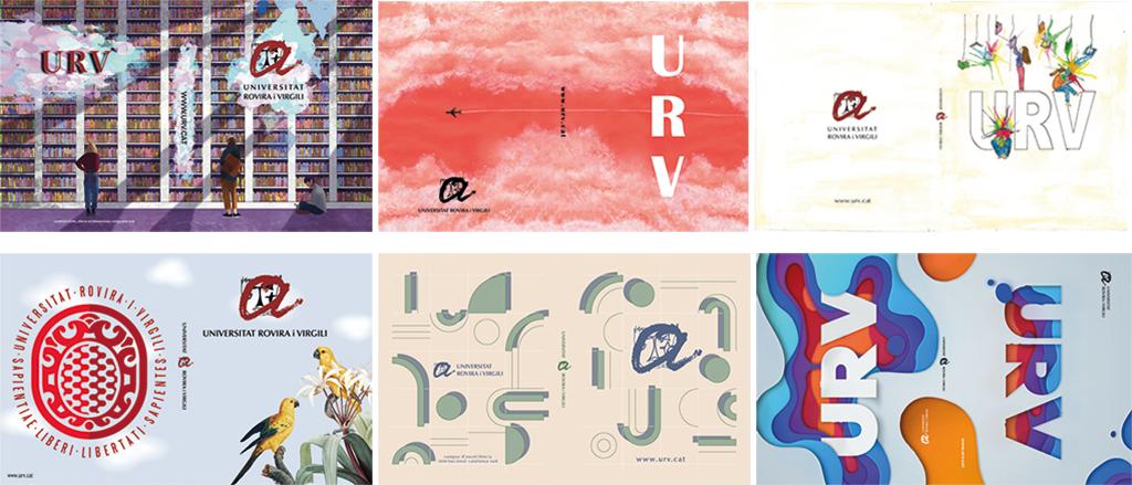 Els sis dissenys finalistes del concurs de carpetes