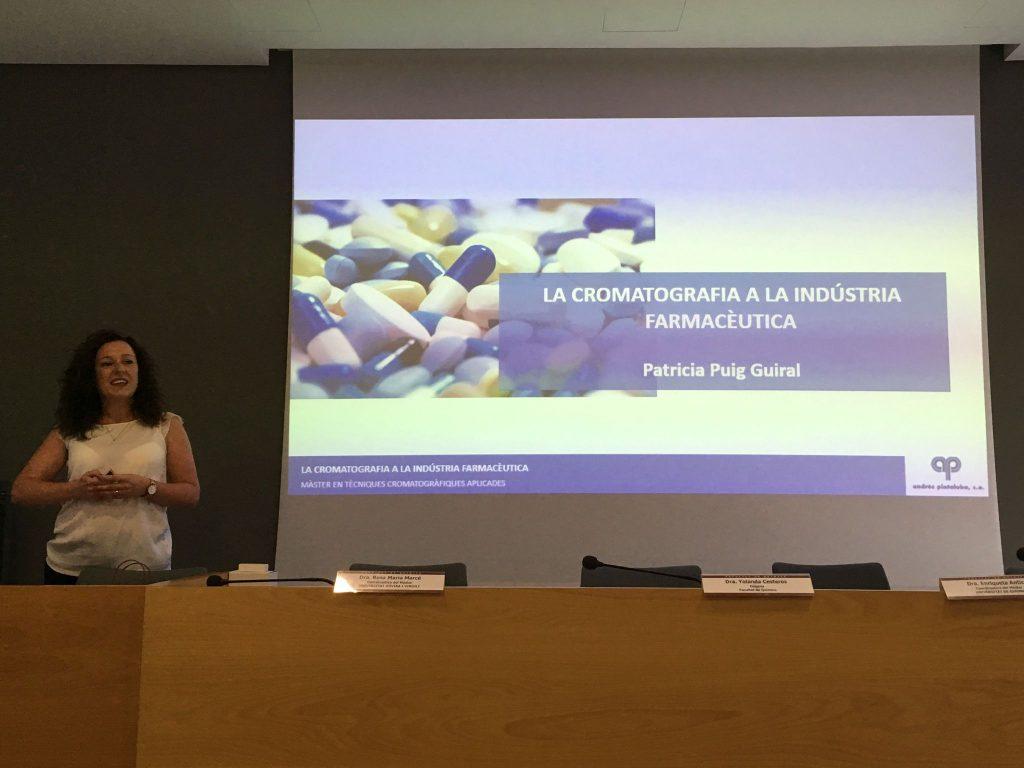 La conferenciant, Patrícia Puig d'APSA R&D