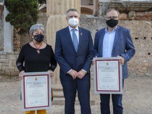 Distincions de Fill predilecte i Filla Adoptiva de la ciutat de Tarragona 2021