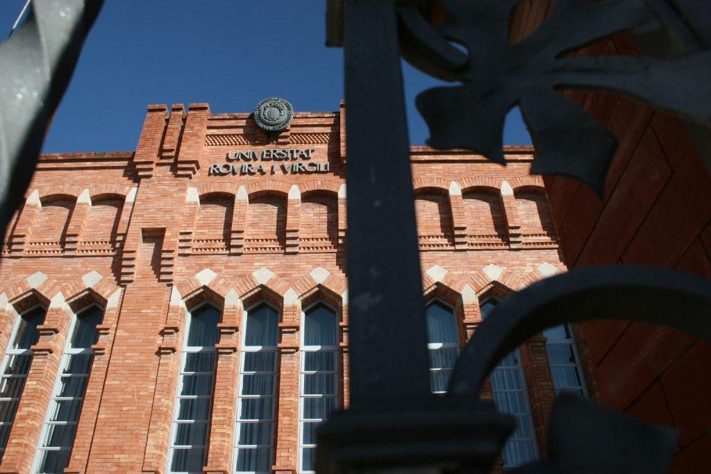 Edifici del rectorat de la URV.